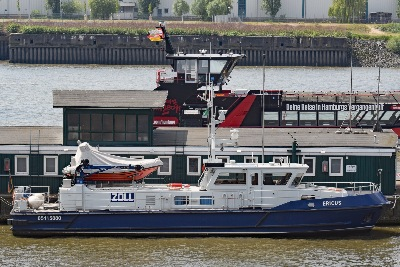 Zollboot ERICUS am 26.05.2020 in Hamburg