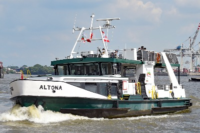 Fähre ALTONA am 26.05.2020 in Hamburg