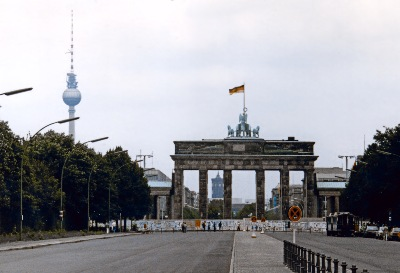 Brandenburger Tor im September 1987