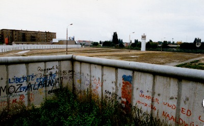 Mauer Berlin im September 1987