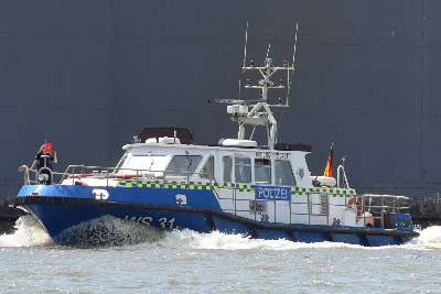 Polizeiboot WS 31 (Europa-Nr. 04810150) am 26.05.2020 in Hamburg